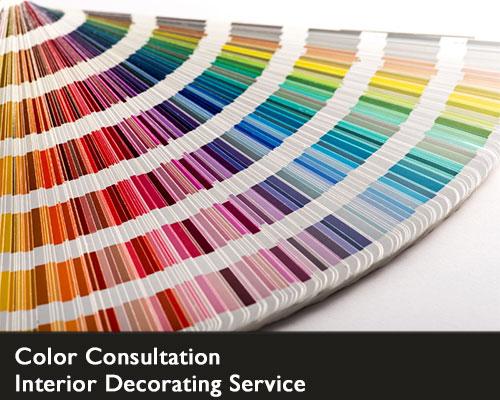 interior decorating service - color consultation
